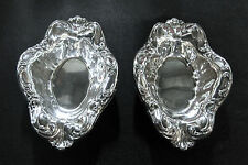 Matching set of 2 Silverplate Candy Dishes ~  *vintage*