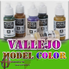 Vallejo Model Color Acrylic Paint 17ml Free Shipping $35+