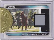 STAR TREK 2009 MOVIE RC1 SECURE ORDER ATTACHE RELIC 3 CASE INCENTIVE 188/250