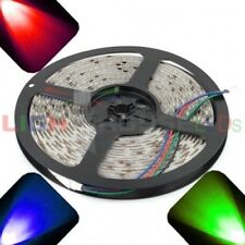 RGB - PLCC6/5050 12V LED Strip - Adhesive Backing - Water Resistant - 5m Roll /