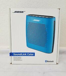 Bose SoundLink Color Bluetooth Speaker I, BLUE, Complete in Box Unused