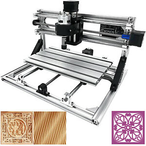 3 Axis CNC Router Kit 3018 Engraver For Wood PVC Injection Molding Material