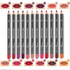 12pcs Crayon Rouge à Lèvres Ligne Lip Gloss Mat Étanche Maquillage Cosmétique