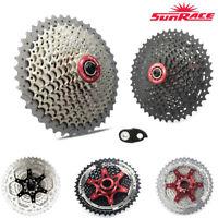 SunRace MTB Bike 10 11 Speed Cassette 11-40/42/46t fit Shimano SRAM + Derailleur