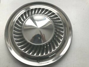 2 VINTAGE  1959 1960 FORD THUNDERBIRD GALAXIE FAIRLANE HUBCAPS WHEEL COVERS