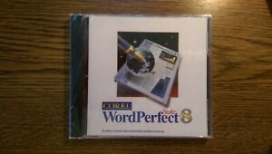 Corel WordPerfect 8 Suite