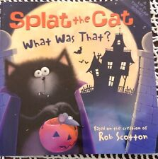 Splat the Cat What Was That by Rob Scotton Childrens Book