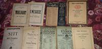 Job Lot Bundle Vintage Sheet Music Song Books wohlfahrt neil macka ect 9x