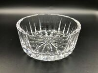 """Waterford Cut Crystal Round Candy Bowl, 5"""" Diameter x 2"""" High, Weight 1 Lbs 6 Oz"""