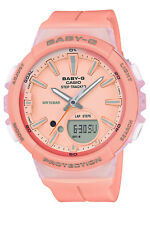 Casio Baby-g Analogue/digital Pink Female Step Tracker Running Series Watch Bgs1