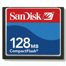 50x 128MB SanDisk CompactFlash CF scheda di memoria ORIGINALE