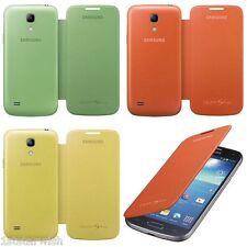 Genuine Samsung Flip Cover Case For Galaxy S4 Mini i9195T Telstra Vodafone