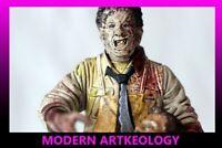 McFarlane Action Figure Texas Chain Saw Massacre Movie Maniacs Leather Face 1998