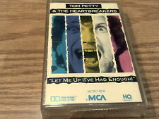 TOM PETTY AND THE HEARTBREAKERS Let Me Up I've Had Enough Cassette Tape