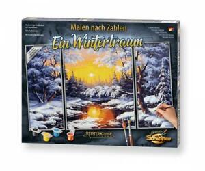 Schipper 609260786 - MNZ Ein Wintertraum Triptychon 50x80cm