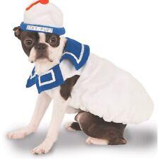 Stay Puft Marshmallow Man Ghostbusters Fancy Dress Halloween Pet Dog Cat Costume