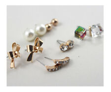 *Forever 21* 6 Pairs Elegant Studs Earrings  J59