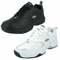 MENS HI TEC BLACK LEATHER CASUAL WALKING RUNNING GYM SPORTS TRAINERS SHOES ARGON