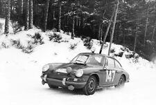 1966 Porsche 911 - Monte Carlo - Promotional Photo Poster