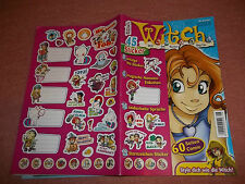WITCH***COMIC***HEFT****NR.6/2007 + STICKER + BESTELLKARTE***!!!***