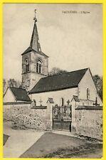 cpa Rare 51 - Village de TAUXIERES MUTRY (Marne) L'ÉGLISE Romane SAINT HILAIRE