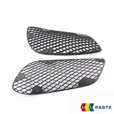 NEW GENUINE MERCEDES BENZ MB AMG E 2014-15 W212 FRONT BUMPER LOWER GRILL SET