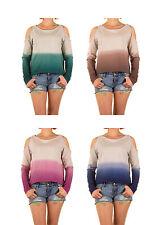Damen-Pullover mit U-Ausschnitt aus Polyester