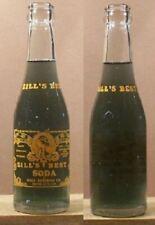 Zill's Best 7 oz Indian Woman Soda Bottle Hill's Bev Rapid City South Dakota 207