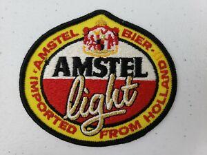 Vintage Amstel Light Beer Bier Imported From Holland Hat Jacket Uniform Patch