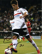 LUCAS PIAZON - Signed 10x8 Photograph - FOOTBALL - FULHAM