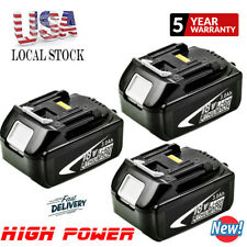 3XMakita 18V Replace Battery 3.0AH Lithium-Ion For Makita BL1830 BL1860 LXT Tool