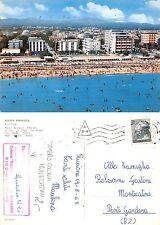 Riccione - Mare Spiaggia Alberghi TIMBRO COLONIA MONTECATINI (S-L 163)