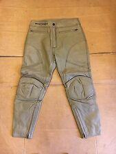 "FRANK THOMAS Lady Rider Ladies Leather Motorbike Trousers UK 16   34"" Waist LBB"