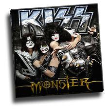 Kiss-Monster Giclee Cuadro Lienzo Arte Álbum Cubierta