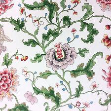 NL090 Athos Brunschwig & Fils Cotton Taffeta Chintz Floral Home Decor Fabric