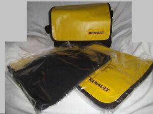 Renault Umhängetaschen gelb mit Klettverschluss Größe ca. 36 x 28 cm