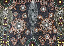 Colleen Bird Wallace NUNGURRAYI. Authentic Aboriginal Art. 100% Original.