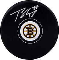 Torey Krug Boston Bruins Autographed Hockey Puck Fanatics Authentic Certified
