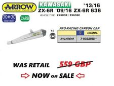 KAWASAKI ZX6R 09 10 11 12 13 14 15 16 EXHAUST SLIP ON ARROW PRO RACING NICR EEC