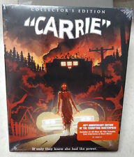 Carrie 2-Disc Blu-Ray NEW/SEALED WITH SLIPCOVER Scream Factory Brian DePalma