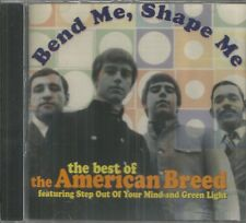 AMERICAN BREED CD - Bend Me Shape Me  (The Best Of)   Brand New Varese Sarabande