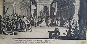 17th c. Engraving by Jacques Callot (France 1593-1635)