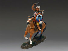 King & Country TRW063(P) Red Stripe Single Mounted Cheyenne Figure