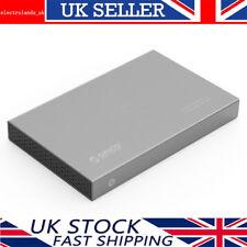ORICO Aluminium 2.5 USB 3.0 SATA III HDD/SSD Hard Drive Enclosure Caddy Case GY