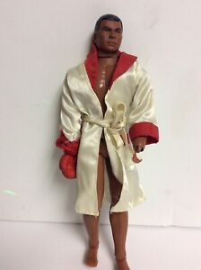 Vintage 1976 Mego Muhammad Ali Boxing Action Figure Doll Cassius Clay