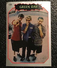 Green Day Sticker 1997 Argentina International Rock Cards Pop Punk 90's Guitar