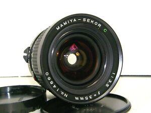 "Mamiya 645 Pro 35MM F3.5 ""C"" Series Wide Angle Lens for Mamiya 645 Cameras in EC"