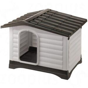 Ferplast Dogvilla Plastic Dog Kennel - 2 Sizes