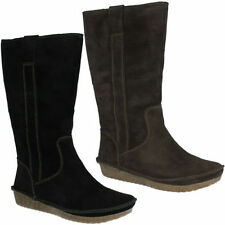 Clarks Suede 100% Leather Boots for Women