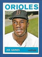 1964 Topps # 364 Joe Gaines  Baltimore Orioles  EX/MT  Additional ship free